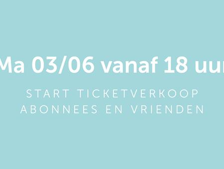 Start ticketverkoop
